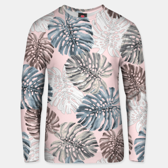 Thumbnail image of Palm Pattern Cotton sweater, Live Heroes