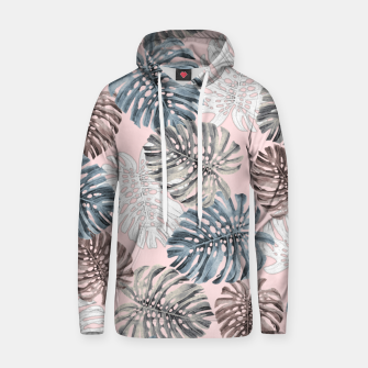 Thumbnail image of Palm Pattern Cotton hoodie, Live Heroes