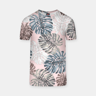 Thumbnail image of Palm Pattern T-shirt, Live Heroes