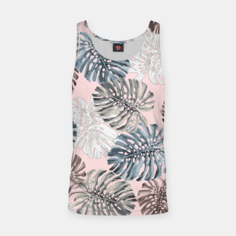 Thumbnail image of Palm Pattern Tank Top, Live Heroes