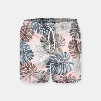 Thumbnail image of Palm Pattern Swim Shorts, Live Heroes