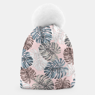 Thumbnail image of Palm Pattern Beanie, Live Heroes