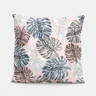 Thumbnail image of Palm Pattern Pillow, Live Heroes