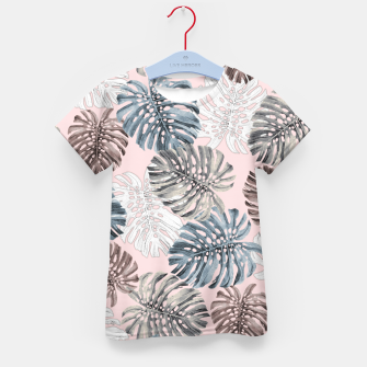 Thumbnail image of Palm Pattern Kid's t-shirt, Live Heroes
