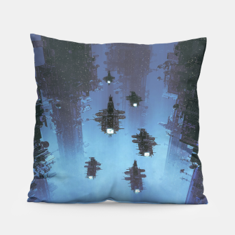 Thumbnail image of The Voyage Home Pillow, Live Heroes