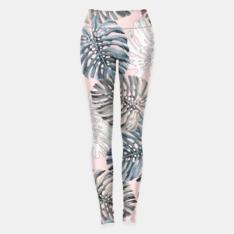 Thumbnail image of Palm Pattern Leggings, Live Heroes