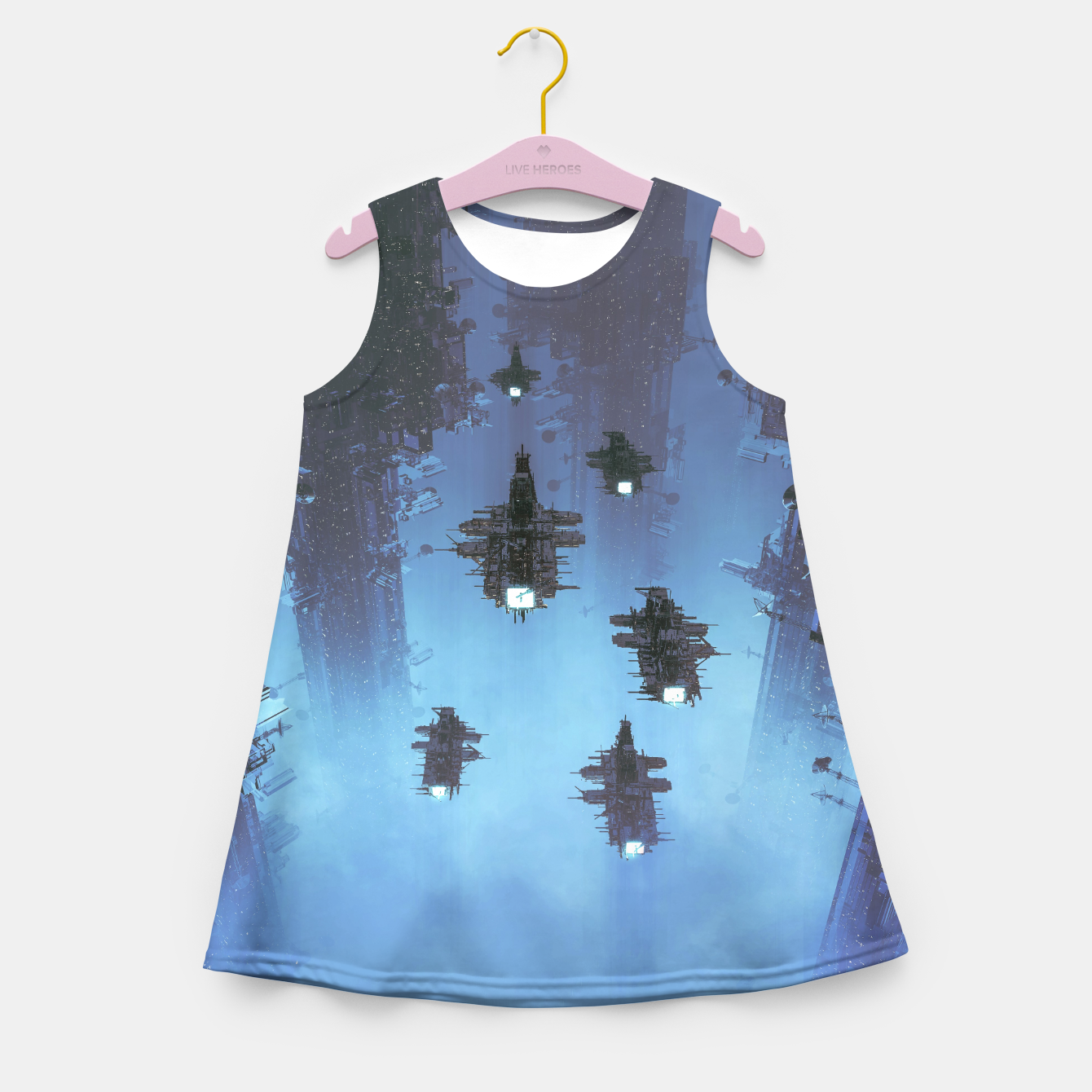 Image of The Voyage Home Girl's summer dress - Live Heroes