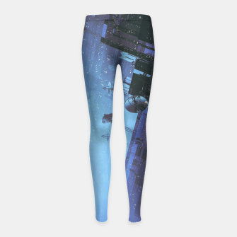 Thumbnail image of The Voyage Home Girl's leggings, Live Heroes
