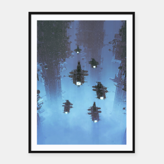 Thumbnail image of The Voyage Home Framed poster, Live Heroes