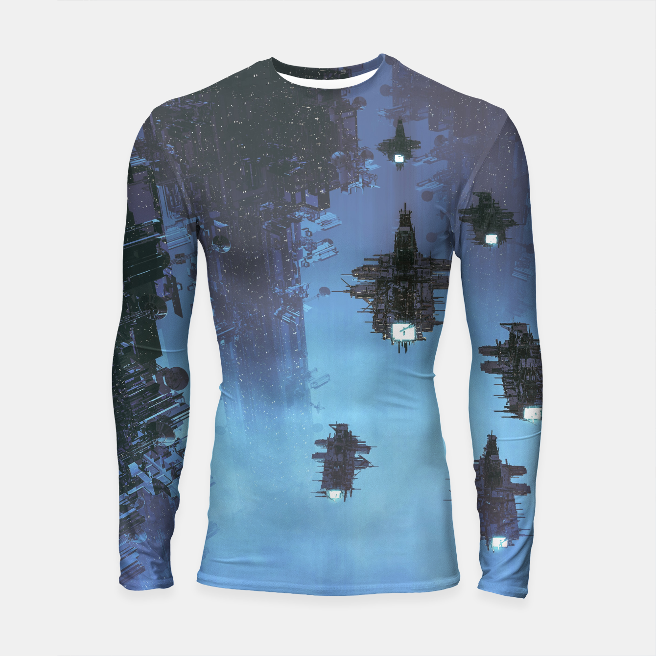 Image of The Voyage Home Longsleeve rashguard  - Live Heroes