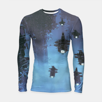 Thumbnail image of The Voyage Home Longsleeve rashguard , Live Heroes
