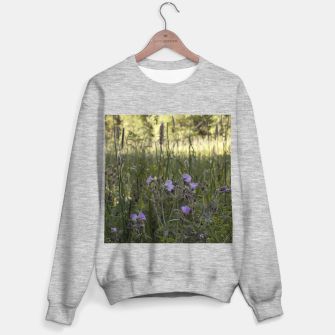 Thumbnail image of Flowers in a field Sweater regular, Live Heroes