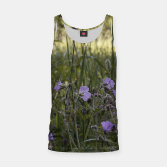 Thumbnail image of Flowers in a field Tank Top, Live Heroes