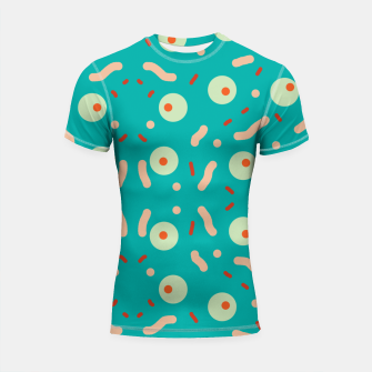 Thumbnail image of Dots and confusion Shortsleeve rashguard, Live Heroes