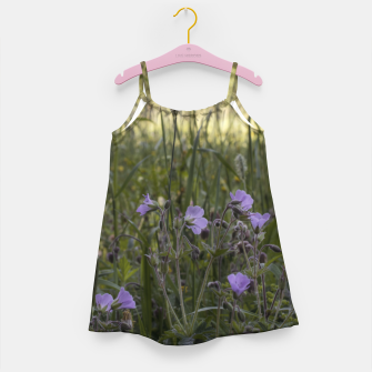 Thumbnail image of Flowers in a field Girl's dress, Live Heroes
