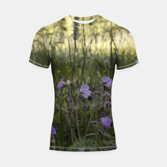 Thumbnail image of Flowers in a field Shortsleeve rashguard, Live Heroes