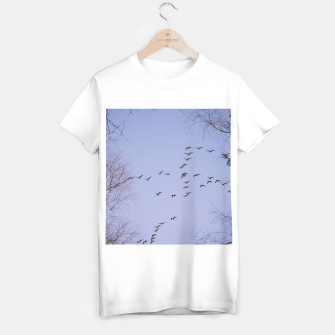 Miniatur Flying geese T-shirt regular, Live Heroes