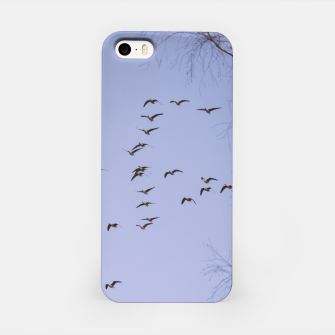 Miniatur Flying geese iPhone Case, Live Heroes