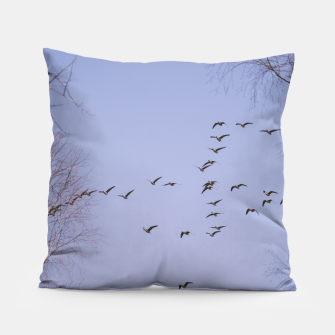 Miniatur Flying geese Pillow, Live Heroes
