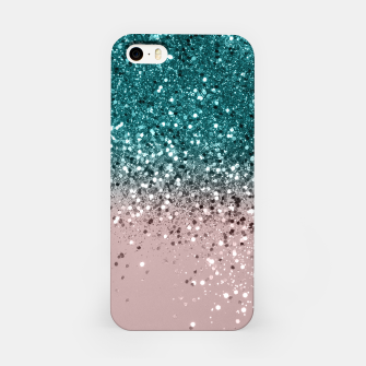 Thumbnail image of Tropical Summer Vibes Glitter #3 #decor #art iPhone-Hülle, Live Heroes