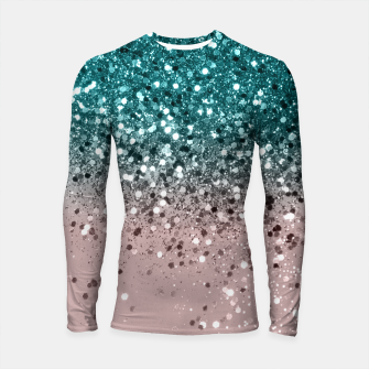 Thumbnail image of Tropical Summer Vibes Glitter #3 #decor #art Longsleeve rashguard, Live Heroes