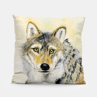 Miniaturka Totem American Grey wolf  Almohada, Live Heroes