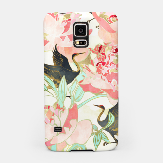 Thumbnail image of Floral Cranes Samsung Case, Live Heroes