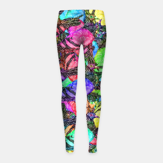 Thumbnail image of doves Girl's leggings, Live Heroes