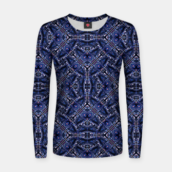 Thumbnail image of Modern Ornate Pattern Design Woman cotton sweater, Live Heroes