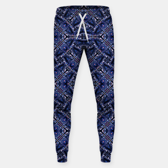 Thumbnail image of Modern Ornate Pattern Design Cotton sweatpants, Live Heroes