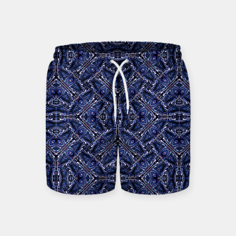 Thumbnail image of Modern Ornate Pattern Design Swim Shorts, Live Heroes