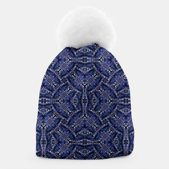 Thumbnail image of Modern Ornate Pattern Design Beanie, Live Heroes