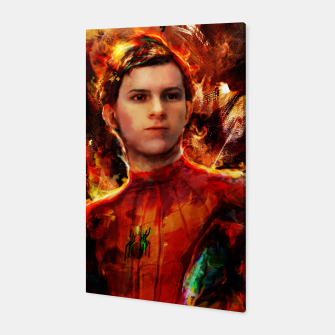 Thumbnail image of spider man Canvas, Live Heroes