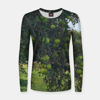 Thumbnail image of Apple Tree Branch Womens Sweater, Live Heroes