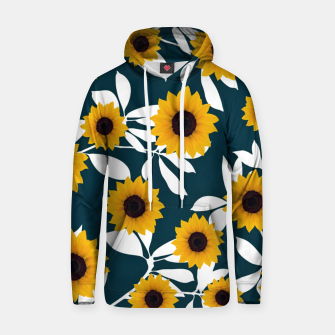 Thumbnail image of Sunflower Cotton hoodie, Live Heroes