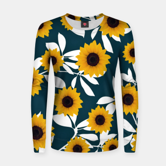 Thumbnail image of Sunflower Woman cotton sweater, Live Heroes