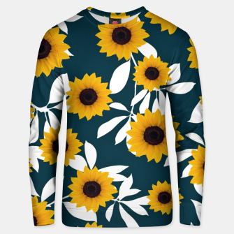 Thumbnail image of Sunflower pattern Cotton sweater, Live Heroes