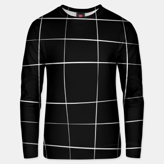 Miniaturka Abstract pattern - black and white. Cotton sweater, Live Heroes