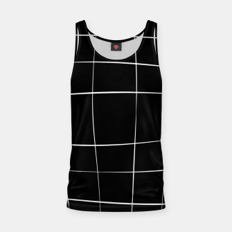 Miniaturka Abstract pattern - black and white. Tank Top, Live Heroes