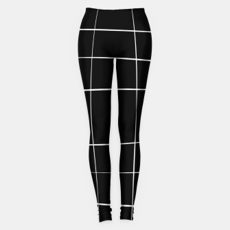 Miniaturka Abstract pattern - black and white. Leggings, Live Heroes