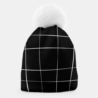 Miniaturka Abstract pattern - black and white. Beanie, Live Heroes