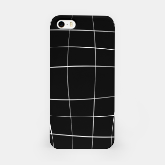 Miniaturka Abstract pattern - black and white. iPhone Case, Live Heroes