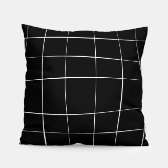 Miniaturka Abstract pattern - black and white. Pillow, Live Heroes