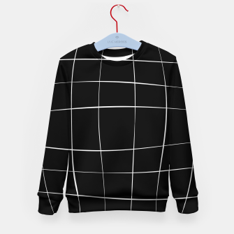 Miniature de image de Abstract pattern - black and white. Kid's sweater, Live Heroes