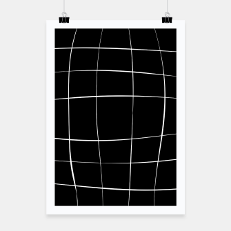 Imagen en miniatura de Abstract pattern - black and white. Poster, Live Heroes