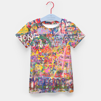 Thumbnail image of Hope for Peace Kid's t-shirt, Live Heroes