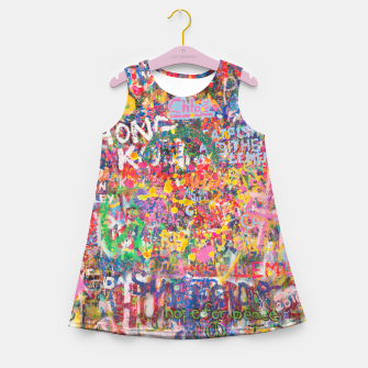 Thumbnail image of Hope for Peace Girl's summer dress, Live Heroes