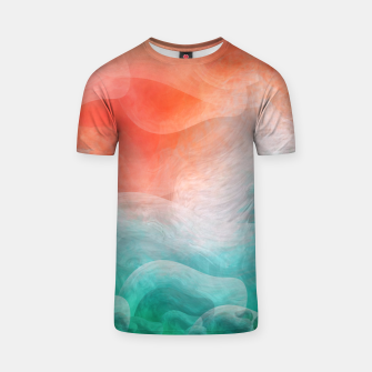"Thumbnail image of ""Coral sand beach and tropical turquoise sea"" Camiseta, Live Heroes"