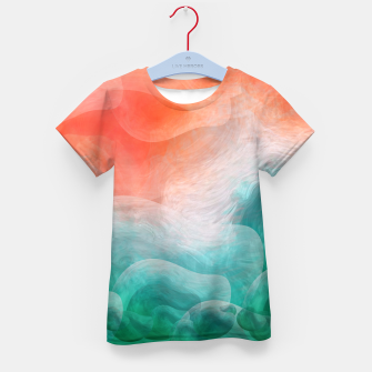 "Thumbnail image of ""Coral sand beach and tropical turquoise sea"" Camiseta para niños, Live Heroes"