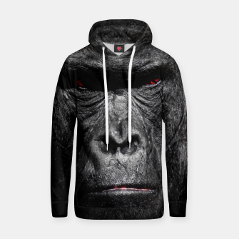 Thumbnail image of Gorilla  Face Cotton hoodie, Live Heroes